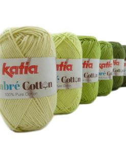 lana-filato-ombrecotton-knit-cotone-verde-giallastro-avocado-verde-verde-medio-verde-abete-verde-muschio-primavera-estate-katia-2-g